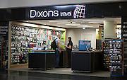 Dixons travel shop Gatwick airport London, UK