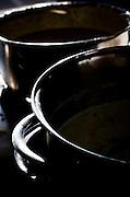Belo Horizonte_MG, Brasil...Festival Gastronomico Sabor e Saber, na foto detalhe de panelas utilizadas no preparo dos alimentos...The Gastronomic Festival Sabor e Saber, in the photo the saucepan used in food preparation. ..Foto: BRUNO MAGALHAES / NITRO