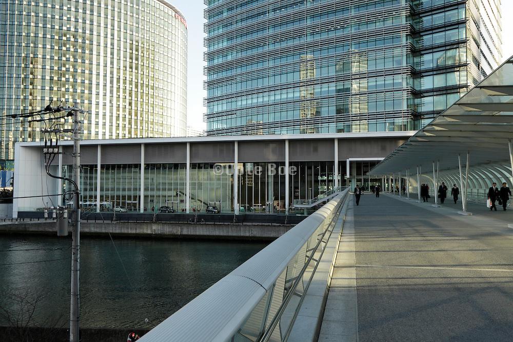 modern office buildings Japan Yokohama