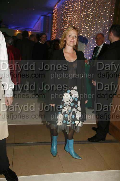 Miranda Richardson, Burberry celebrates the opening of the Hockney exhibition and their 150th anniversary with a party at the National Portrait Gallery. 11 October 2006. -DO NOT ARCHIVE-© Copyright Photograph by Dafydd Jones 66 Stockwell Park Rd. London SW9 0DA Tel 020 7733 0108 www.dafjones.com