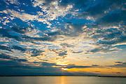 Sunset, Tonle Sap Lake, Cambodia