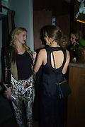 MARIA VON THURN UND TAXIS, BEATA HEUMAN, Nicky Haslam hosts dinner at  Gigi's for Leslie Caron. 22 Woodstock St. London. W1C 2AR. 25 March 2015