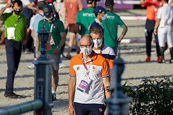 Ehrens Rob, NED, Chef d'Equipe<br /> Olympic Games Tokyo 2021<br /> © Hippo Foto - Dirk Caremans<br /> 04/08/2021