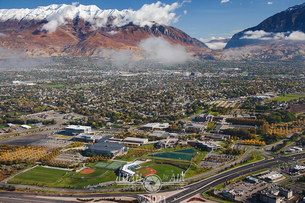 Utah Valley University in the Fall