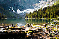 We went hiking up to Rawson Lake in Kananaskis Provincial Park. It's a beautiful hike to an even more beautiful lake!<br /> <br /> ©2010, Sean Phillips<br /> http://www.RiverwoodPhotography.com