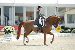 jFerrer-Salat Beatriz, (ESP), Delgado <br /> Grand Prix Special<br /> CDIO Hagen 2015<br /> © Hippo Foto - Stefan Lafrentz<br /> 11/07/15