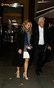 MADRID, SPAIN, 2015, NOVEMBER 23 <br /> <br /> Richard Gere dinner in Madrid with Alejandra Silva<br /> <br /> Richard Gere and Alejandra Silva carried out more than a year. They dined in Madrid, accompanied by Alejandro Amenabar and her husband. The couple arrived clutching the arm and walked quickly without separating. The actor's visit to Spain has aroused much fuss. After several hours all went very smiling after evening. The Spanish director does not hesitate to say that Gere is a good candidate for one of his films<br /> ©Exclusivepix Media
