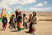 Inhabitants of a remote Moroccan Village
