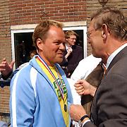 Finale Amstelcup amateurs 2004, VV Sneek - Ter Leede, trainer Henk de Jong