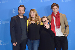Peter Sarsgaard, Andrea Chalupa, Agnieszka Holland and James Norton attending the Mr. Jones Photocall as part of the 69th Berlin International Film Festival (Berlinale) in Berlin, Germany on February 10, 2019. Photo by Aurore Marechal/ABACAPRESS.COM