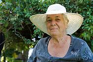 Jean Renwick, owner and creator of the Sunnyside Garden, St. George's Grenada, West Indies, Caribbean