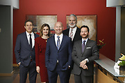 SHOT 1/8/19 12:23:49 PM - Bachus & Schanker LLC lawyers James Olsen, Maaren Johnson, J. Kyle Bachus, Darin Schanker and Andrew Quisenberry in their downtown Denver, Co. offices. The law firm specializes in car accidents, personal injury cases, consumer rights, class action suits and much more. (Photo by Marc Piscotty / © 2018)