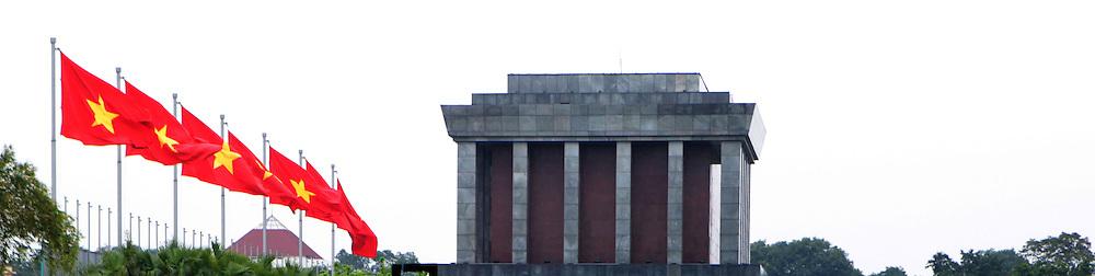 "Ho Chi Minh""s tomb in Hanoi.  Photograph y Dennis Brack"