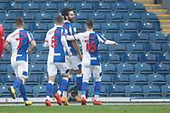 1-0, GOAL celebration by Ben Brereton of Blackburn Rovers during the EFL Sky Bet Championship match between Blackburn Rovers and Queens Park Rangers at Ewood Park, Blackburn, England on 7 November 2020.