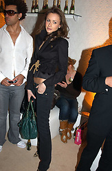 CAMILLA AL FAYED and friend at a party to celebrate the opeing of the new Paul & Joe Boutique at 134 Sloane Street, London SW1 on 14th April 2005.<br /><br />NON EXCLUSIVE - WORLD RIGHTS