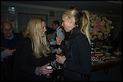 DAVINA HARBORD; TAMARA BECKWITH, Fortnum and Mason and Quartet books host a celebration for the publication of  The White Umbrella by Brian Sewell. Illustrated by Sally Ann Lasson. Fortnum and Mason. Piccadilly. London. 3 March 2015.