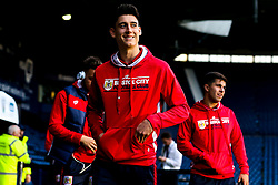 Callum O'Dowda of Bristol City arrives at the Hawthorns for the Sky Bet Championship fixture against West Bromwich Albion - Mandatory by-line: Robbie Stephenson/JMP - 18/09/2018 - FOOTBALL - The Hawthorns - West Bromwich, England - West Bromwich Albion v Bristol City - Sky Bet Championship
