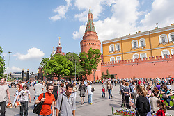 stock photo of the moscow kremlin court yard