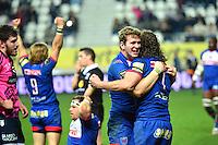 Joie Grenoble - Chris FARRELL / Peter KIMLIN - 14.03.2015 - Stade Francais / Grenoble -  20eme journee de Top 14<br /> Photo : David Winter  / Icon Sport<br /> <br />   *** Local Caption ***