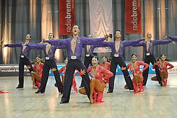 08.05.2010, Bremen Arena, Bremen, GER, Europameisterschaft, Lateinformation, Zwischenrunde, im Bild die Formation Tanz-Sport-Zentrum Velbert A (GER) EXPA Pictures © 2010, PhotoCredit: EXPA/ nph/  Witke / SPORTIDA PHOTO AGENCY