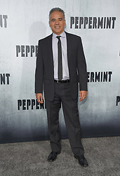 August 28, 2018 - Hollywood, California, U.S. - John Ortiz arrives for the premiere of the film 'Peppermint' at the Regal Cinemas LA Live theater. (Credit Image: © Lisa O'Connor/ZUMA Wire)