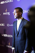 January 12, 2013- Washington, D.C- Recording Artist Luke James attends the 2013 BET Honors Red Carpet held at the Warner Theater on January 12, 2013 in Washington, DC. BET Honors is a night celebrating distinguished African Americans performing at exceptional levels in the areas of music, literature, entertainment, media service and education. (Terrence Jennings)
