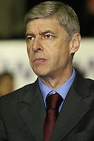 Photo: Paul Thomas.<br /> Wigan Athletic v Arsenal. The Barclays Premiership. 13/12/2006.<br /> <br /> Arsene Wenger, manager of Arsenal.