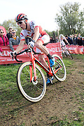 Belgium, November 1 2017:  Laurens Sweeck (Era Real Estate - Circus) during the 2017 edition of the Koppenbergcross. Sweeck finished in 11th place. Copyright 2017 Peter Horrell.