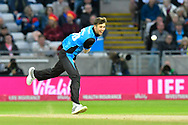 Ed Barnard of Worcestershire bowling during the final of the Vitality T20 Finals Day 2018 match between Worcestershire Rapids and Sussex Sharks at Edgbaston, Birmingham, United Kingdom on 15 September 2018.