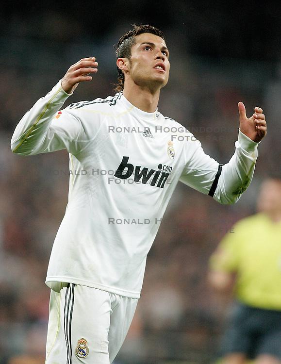 10-04-2010 VOETBAL: REAL MADRID - BARCELONA: MADRID<br /> Cristiano Ronaldo<br /> ©2010- FRH nph / ALFAQUI