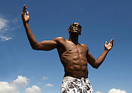 Usain Bolt in Strawberry Hill, Jamaica June'08