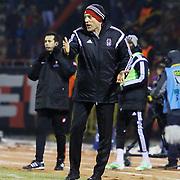 Besiktas's coach Slaven Bilic during their Turkish superleague soccer match Eskisehirspor between Besiktas at the Ataturk Stadium in Eskisehir Turkey on Sunday 22 February 2015. Photo by Kurtulus YILMAZ/TURKPIX
