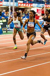 NSAF 2014 New Balance Nationals Indoor, girls 60 m hurdles, Dior Hall