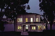 Restored Victorian house: the Cameron Stanford house, on Lake Merritt in downtown Oakland, California.