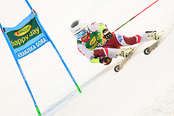 March 9, 2019 - Kranjska Gora, Kranjska Gora, Slovenia - Albert Popov of Bulgaria in action during Audi FIS Ski World Cup Vitranc on March 8, 2019 in Kranjska Gora, Slovenia. (Credit Image: © Rok Rakun/Pacific Press via ZUMA Wire)