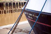 Arctic Corsair ship detail, River Hull, Hull, Yorkshire, England