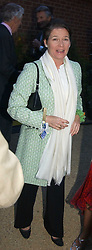 CHARLENE DE CARVALHO, she is the Heineken brewing heiress at the Cartier Chelsea Flower Show dinat the annual Cartier Flower Show Diner held at The Physics Garden, Chelsea, London on 23rd May 2005.<br /><br />NON EXCLUSIVE - WORLD RIGHTS