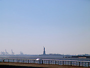 Statue of Liberty seen from Brooklyn.