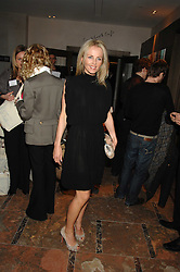 LINDA JOHNSON at a party to celebrate the publication of Lisa B's book 'Lifestyle Essentials' held at the Cook Book Cafe, Intercontinental Hotel, Park Lane London on 10th April 2008.<br />
