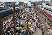India-Old-Delhi Train Station