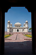 Tomb of Etimad Ud Doulah, 17th Century Mughal tomb built 1628, Agra, India