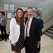 31.08. 2017.                                   <br /> Leaders in the pharmaceutical manufacturing sector in Ireland gathered at University of Limerick today for the third annual Pharmaceutical Manufacturing Technology Centre (PMTC) Knowledge Day.<br /> <br /> Pictured at the event were, Aisling Arthur and Sean Kelly MEP.<br /> <br /> The event provided a showcase for the cutting-edge research supported by the centre with key note addresses from industry thought leaders who shared their vision of the future for the pharmaceutical sector. Picture: Alan Place