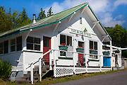 Old store on Orcas Island in the San Juan Islands, Washington