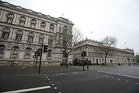 London almost empty due to coronavirus<br /> 19 Mar 2020 photo by Roger Alarcon