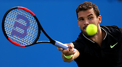 Bulgaria's Grigor Dimitrov during day five of the 2017 AEGON Championships at The Queen's Club, London.