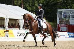 Van Silfhout Diederick, (NED), Expression 4<br /> Final 6 years old horses<br /> World Championship Young Dressage Horses - Verden 2015<br /> © Hippo Foto - Dirk Caremans<br /> 09/08/15
