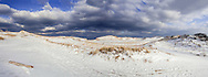 Snow covers the dunes at High Head, Cape Cod Natioal Seahore.