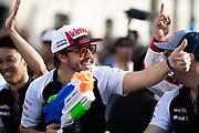 June 10-16, 2019: 24 hours of Le Mans. 8 Fernando Alonso, Toyota Gazoo Racing, TOYOTA TS050 - HYBRID , driver's parade