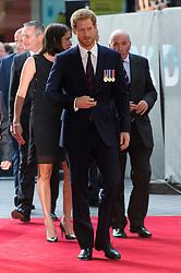 July 13, 2017 - London, London, UK - HRH Prince Harry attends the Dunkirk World Film Premiere. (Credit Image: © Ray Tang via ZUMA Wire)