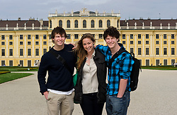 Students participate in the Trinity College study abroad program in Vienna, Austria on Wednesday, April 6, 2011. (Photo © Jock Fistick)